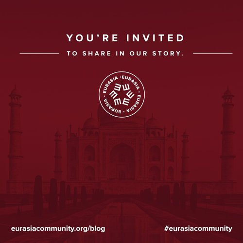 Eurasia Community is a movement of Jesus-followers linking arms to take the gospel to every people group in the Eurasia Region.
